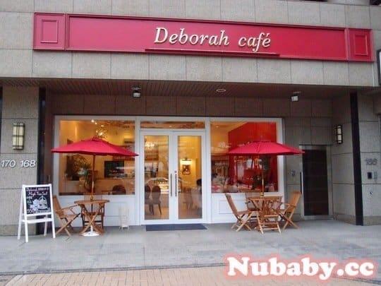 黛博拉咖啡館 巴洛克風格的裝潢