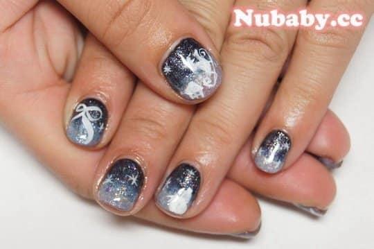 花纹手指甲图案