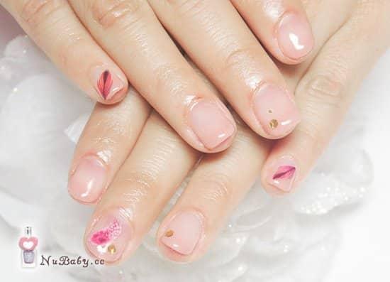 矯正型璀璨凝膠指甲作品-201205