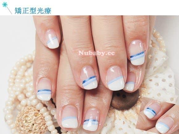 矯正型璀璨凝膠指甲 作品 201211