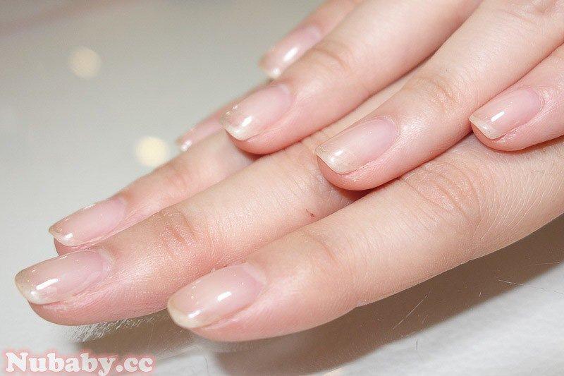 解決指甲易斷 矯正型璀璨凝膠指甲