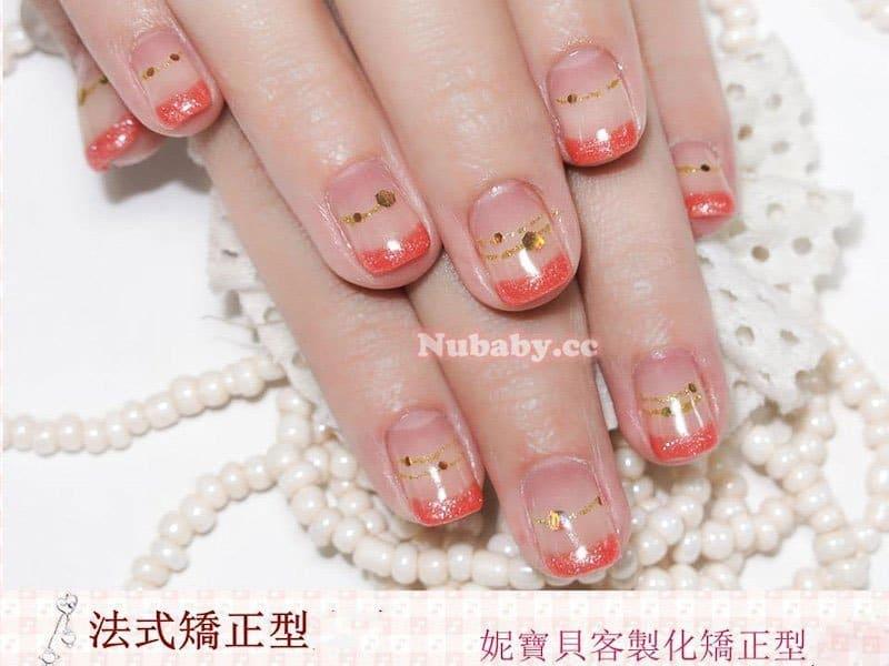 農曆春節過年款璀璨凝膠指甲