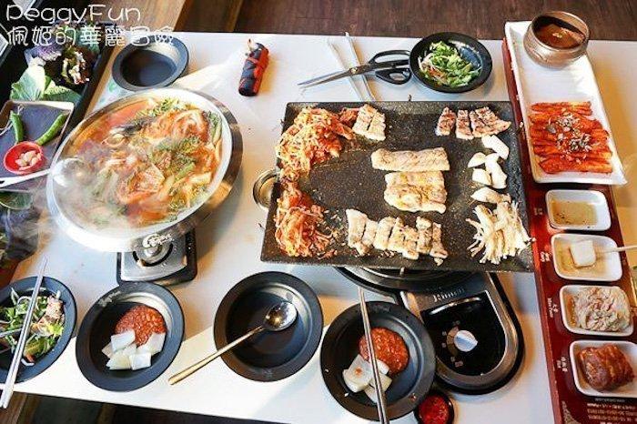 韓國首爾八色豬肉
