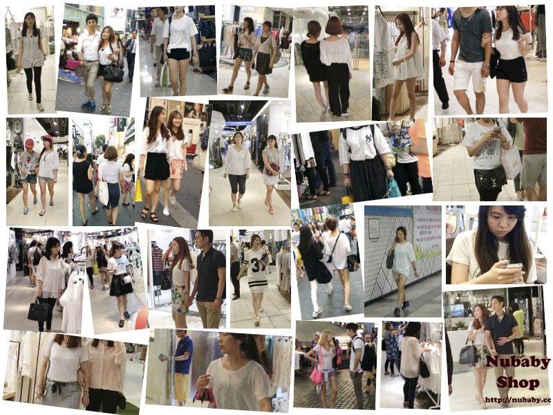 韓妞喜歡穿白色上衣 的八卦