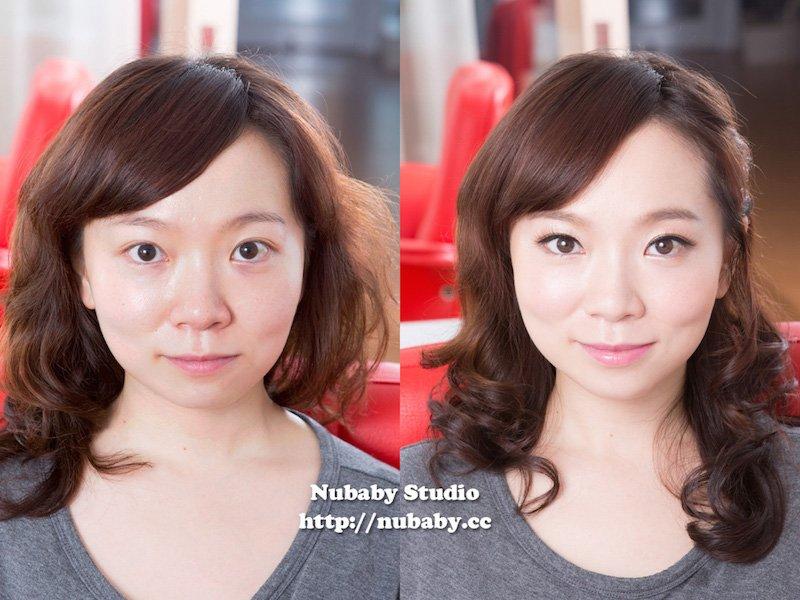日系甜美妝-彩妝教學 素人小夏