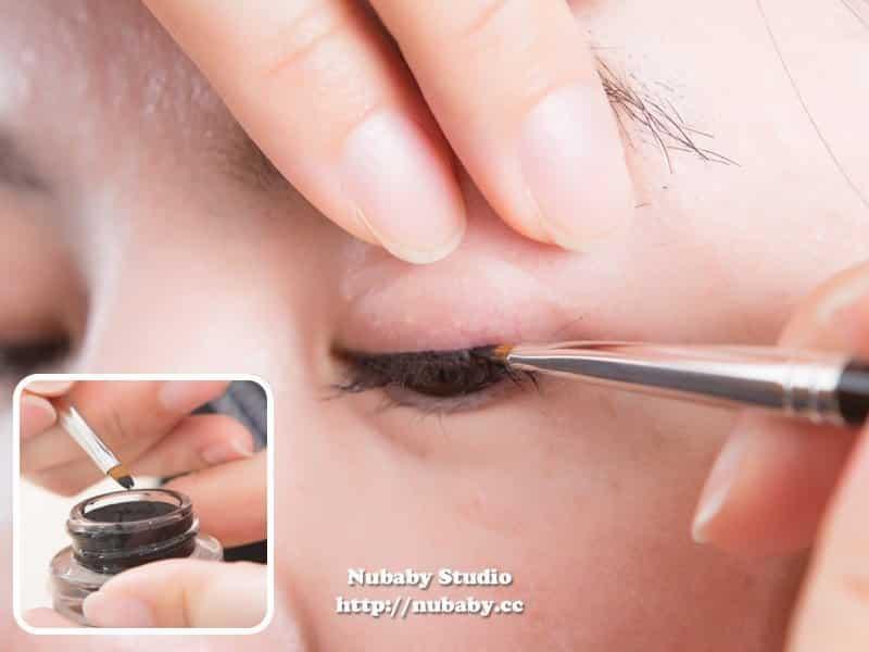 自然溫和眼線&圓潤娃娃眼線-基本彩妝教學