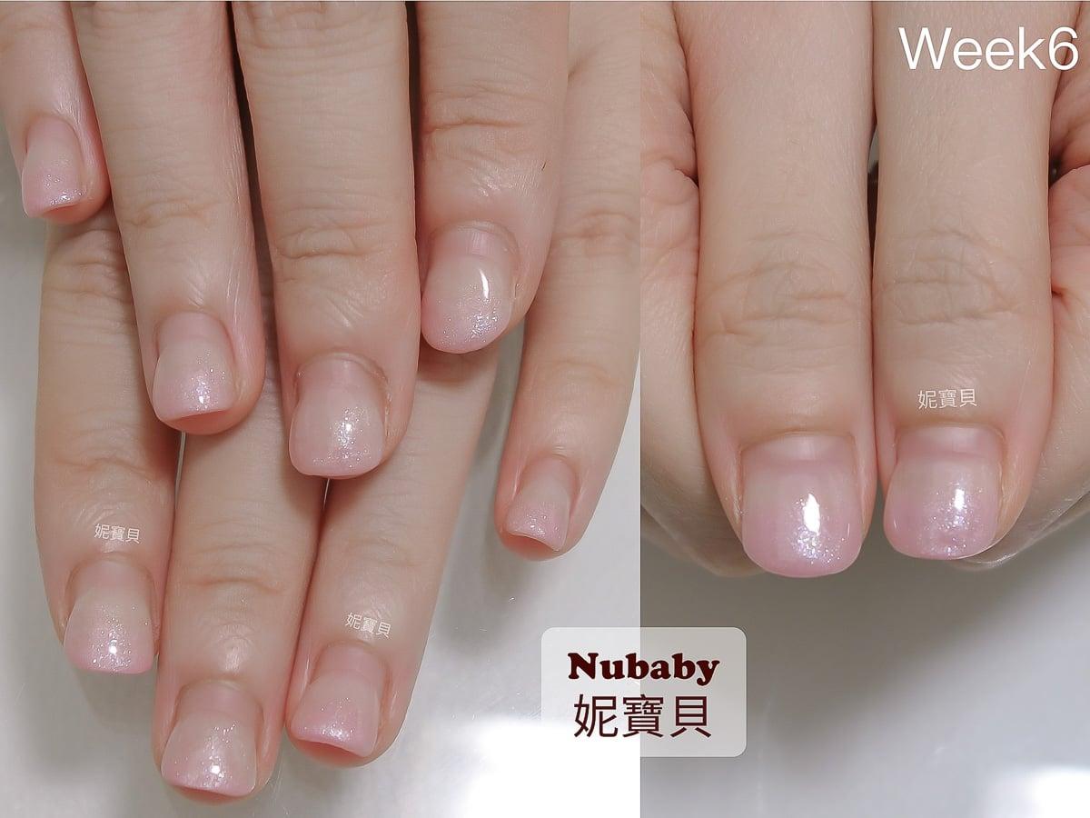 指甲短短寬寬矯正成修長美甲