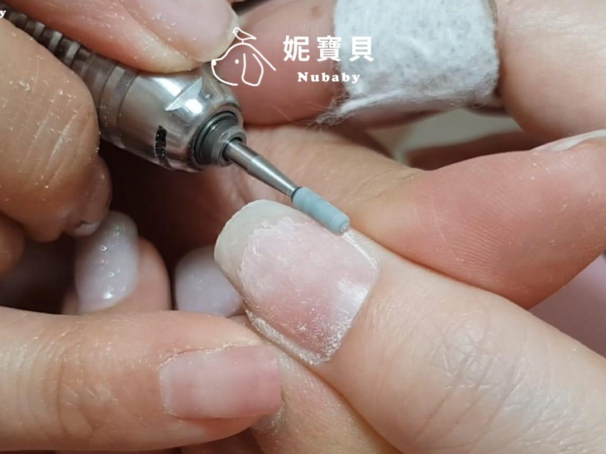 手工卸甲示範-凝膠指甲卸除教學