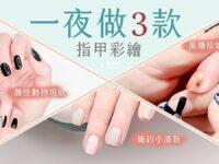 彩繪指甲-動物紋路 黑糖奶茶琥珀色 雙色小清新 影片